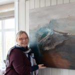Bilde av kunstneren Anne-Cathrine Nannestad Pettersen